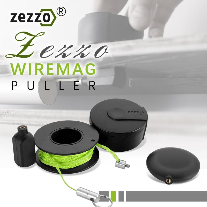 Zezzo Wiremag Puller Snap Wire Guider Magic Wire Cable Finder