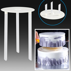 YOMDID Multi-layer Cake Support Frame Practical Cake Stands Round Dessert Support Spacer Piling Bracket Kitchen DIY Cake Tool(China)