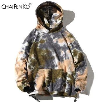 CHAIFENKO Fashion Brand Men Hoodies 2020 Spring Autumn Casual Camouflage Sweatshirts Hip hop Sweatshirt Tops