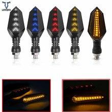 Sinais de volta da motocicleta universal lâmpadas led luzes lâmpada para kawasaki ER 5 er6n h2 rua versys 650cc versys 300x zrx1200 ER 6F