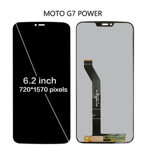 Image 2 - 100% Tested For Motorola Moto G7 XT1962 LCD G7 Play Display Touch Screen Sensor Panel Digiziter Assembly For moto G7 Power LCD