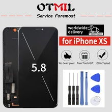 No Dead Pixel OEM OLED 5.8 For iPhone XS LCD Touch Screen  Digitizer Replacement A2098 A2100 A2097 for iPhone XS Display#1 oem xs xxxl p327
