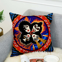 KISS Rock & Roll All Nite Party Pillow Case Polyester Decorative Pillowcases Throw Pillow Cover style-4 marilyn monroe pillow case polyester decorative pillowcases throw pillow cover style 9