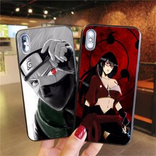 Uzumaki Naruto Kakashi Uchiha Itachi Soft silicone TPU Cover Phone Case For iPhone XS MAX X XR Pro 6 6S 7 8 Plus