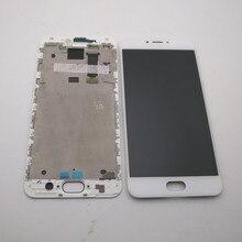 """Original 5.5 """"For Meizu MX6 LCD Screen Display + Touch Panel Digitizer Für Meizu MX6 Display Mit Rahmen Ersatz reparatur Teile"""