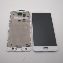Original 5.5For Meizu MX6 LCD Screen Display + Touch Panel Digitizer For Meizu MX6 Display With Frame Replacement Repair Parts