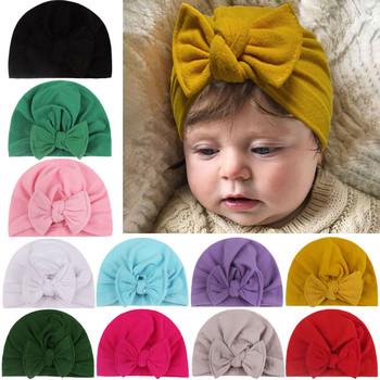 Velvet Knot dzieci kapelusz dziecko kapelusz w jednolitym kolorze czapka Beanie Bow pałąk kwiat czapka dla niemowląt dla dziewczynek księżniczka aksamitna dziecko Turban kapelusze dziewczyna tanie i dobre opinie CN (pochodzenie) COTTON Dopasowana Unisex Drukuj baby Dzieci w wieku 4-6 miesięcy 7-9 miesięcy 10-12 miesięcy 13-18 miesięcy