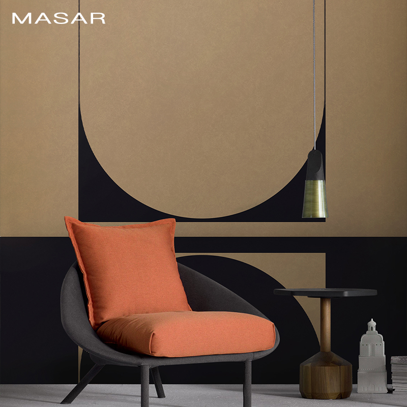 MASAR Simple Personality Dark Blue Mural Environmental Waterproof Wallpaper Western Restaurant Coffee Shop Wallpaper