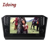 Idoing 2GB+16G Steering Wheel 1Din Android6.0 For Volkswagen Passat 2016 Car DVD Multimedia Player Built in 3G Dangle
