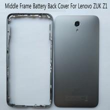 Behuizing Voor Lenovo ZUK Z1 Z1221 Midden Frame Batterij Back Cover Met Volume Knoppen Vervangende Onderdelen