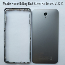 Housing For Lenovo ZUK Z1 Z1221 Middle Frame Battery Back Cover With Volume Buttons Replacement Parts