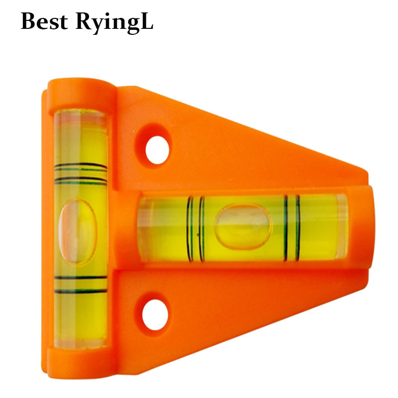 1pc Mini T-Level Tool Truck Boat Parts  Caravan Accessories Console Table Measurement Level Bubble