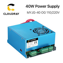 Cloudray 40W CO2 Laser Power Supply MYJG 40WT 110V/220V for Laser Tube Engraving Cutting Machine Model A(China)