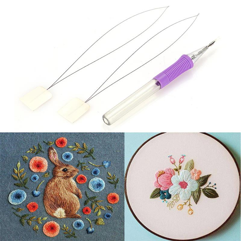 Embroidery Stitching Magic Embroidery Pen Embroidery Tool Convenient