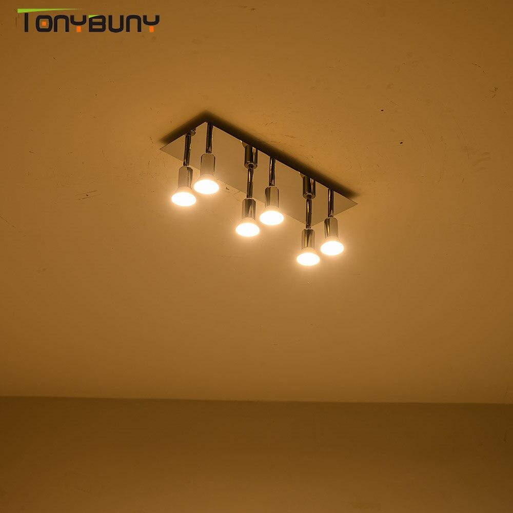 Novo quarto led luzes de teto sala