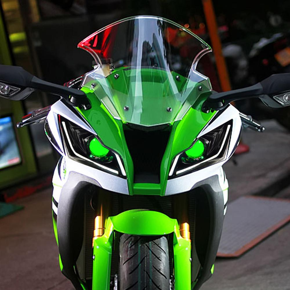 Kawasaki Ninja ZX-10R 2011-2015 Integrated LED Tail Light in Clear or Smoke Lens