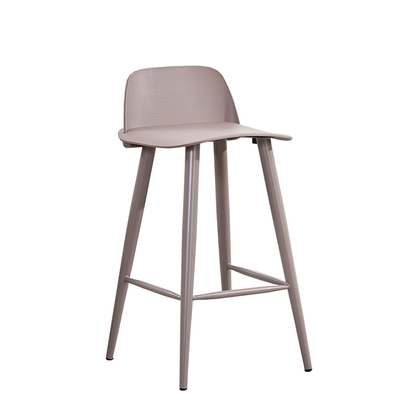 Bar Chair, Nordic Creative Plastic High Bar Chair, High Chair, Four Foot Chair, Reception Chair, Bar Chair