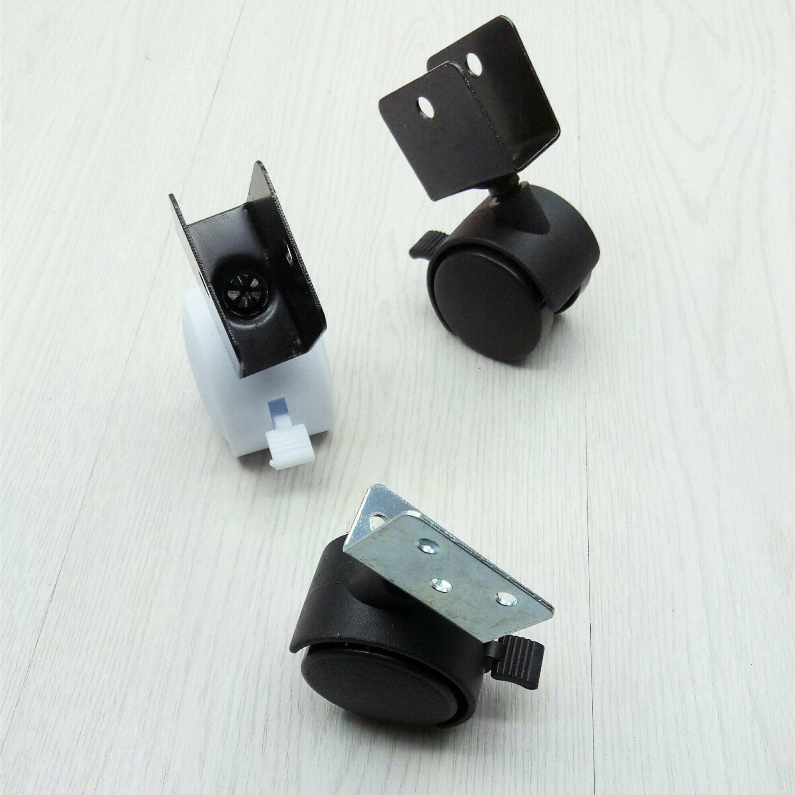 Inches Black White Plastic Angle Brake