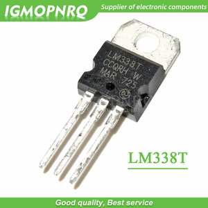 10pcs/lot LM338T LM338 TO-220 high-current adjustable integrated voltage regulator new original