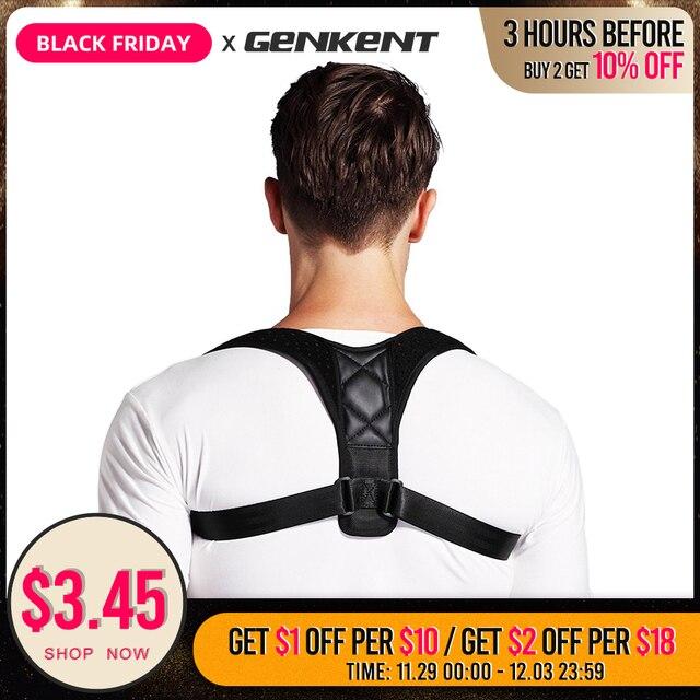 Orthèse réglable soutien ceinture dos Posture correcteur clavicule dos épaule lombaire Posture Correction