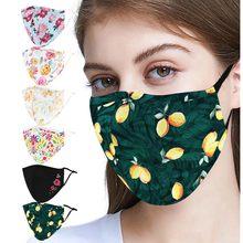 D Unisex Ciclismo Saúde Cotton Mouth Máscara de Poeira Respirador máscara facial masque Mascarilla Tampa Boca маска lavável