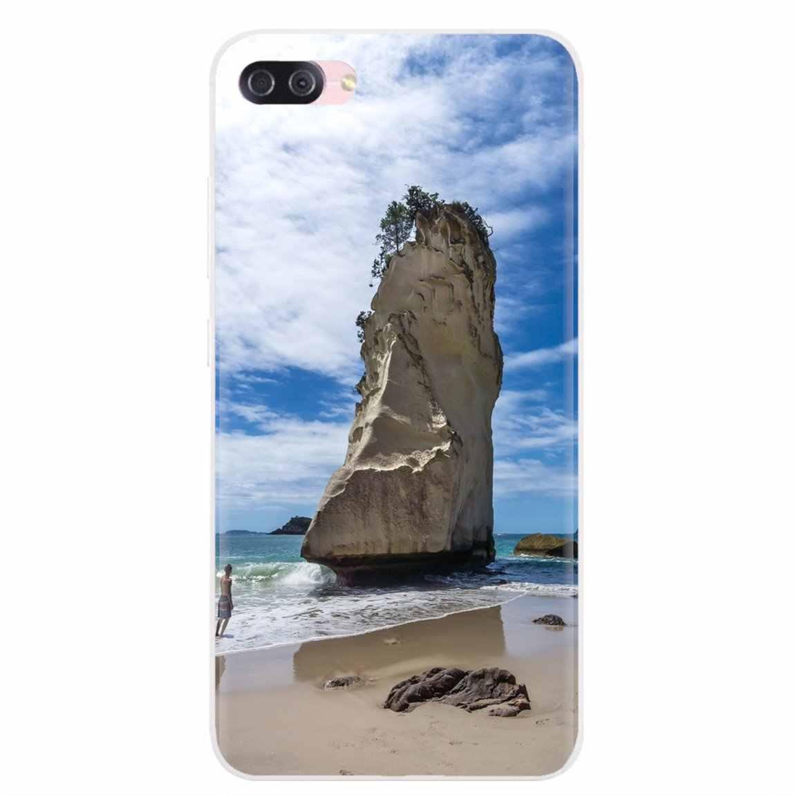 עבור נוקיה X6 2 3 5 6 8 9 230 3310 2.1 3.1 5.1 7 בתוספת 2017 2018 אישית סיליקון טלפון מקרה ew זילנד Coromandel חצי האי