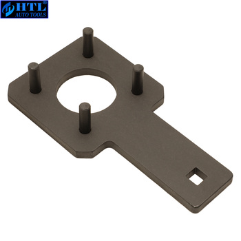 Crankshaft Wrench Crankshaft Vibration Harmonic Damper Holder Tool For VW Dodge Chrysler Ram 3.6L OEM 10198A