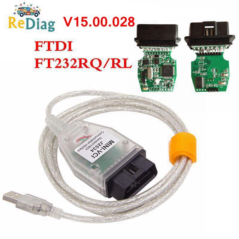 2020 Новинка V15.00.028 ТИС Techstream MINI VCI поддерживает для Toyota многоязычный FT232RQ/RL OBD2 USB Diganotsic интерфейс