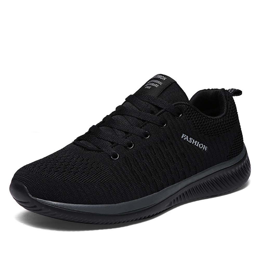 Mesh Men Casual Shoes Lac-up Men Shoes Lightweight Comfortable Breathable Walking Sneakers Masculino Zapatillas Hombre