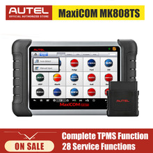 Autel MaxiCOM MK808TS OBD2 Car Scanner Diagnostic Tool All Systems Automotive TPMS Scanner for Auto ABS Airbag SAS Oil DPF EPB