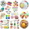 1 set Fidget Toys Sensory Toy Set Anti Stress Toy Set Relief Stress Sensory Anxiety Stress Relief Toy Set For Kids Adult