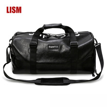 LISM  New Fashion Large Capacity PU Travel Bag Ladies Handbags Men And Women Messenger High Quality Bags Counter Promotion