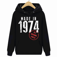 Hoodies Sweatshirts For Sale Made In 1974 All Original Parts Birthday Men'S Crew Neck Short Sleeve Fashion 2017 Tee Shirts