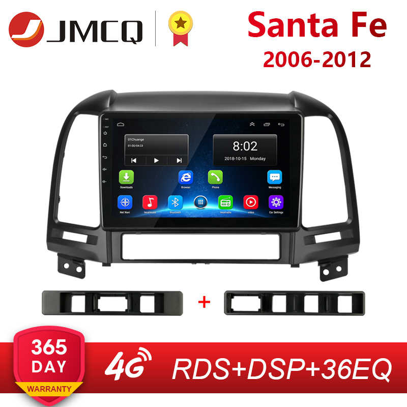 "Voor Hyundai Santa Fe 2 2006-2012 2 + 32G Android 8.1 9 ""2din Auto Radio Multimedia stereo Audio Player GPS Head Unit HiFi"