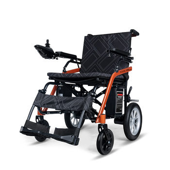 2020 new fashion old people lighweight fold power electric wheelchair with small wheels