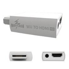 Mayflash wii과 hdmi 어댑터 변환기 지원 720p1080p 3.5mm 오디오 hdtv 용