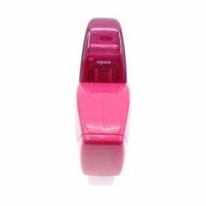 Image 4 - Auto Dispenser Nastro Adatto per Nastro <20 millimetri; Ben Disegno tenuto in Mano Dispenser Nastro Cutter; dispensador Cinta Adhesiva nastro, Rosa, Grigio