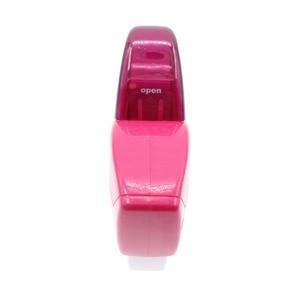 Image 4 - Otomatik bant dağıtıcı için uygun bant <20mm; Iyi tasarım el bant dağıtıcı kesici; dispensador Cinta Adhesiva; Pembe, gri