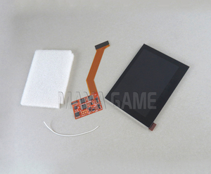 Image 2 - استبدال تسليط الضوء IPS شاشة LCD ل GBA SP لعبة وحدة التحكم إصلاح شاشة LCD 5 level سطوع قابل للتعديل جودة عالية