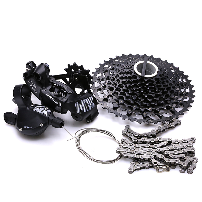 SRAM NX 1x11 11S Speed Bicycle Groupset MTB Bike Kit Shifter Lever & Rear Derailleur & Cassette & Chain image