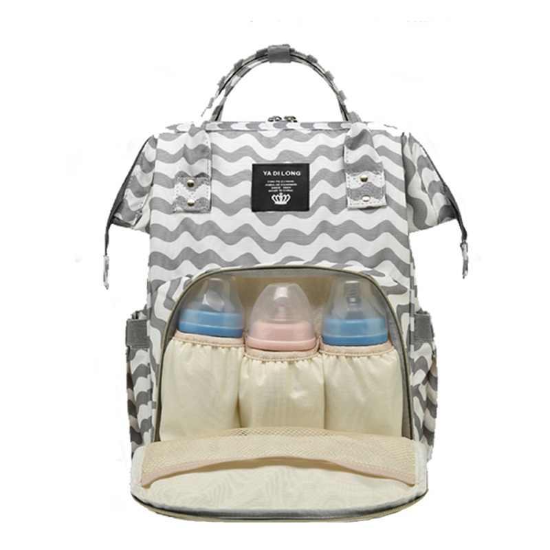 2019 חדש נשים אמא יולדות נסיעות תרמילי גדול קיבולת תינוק סיעוד תיקי תרמיל מעצב סיעוד תיק תינוק טיפול