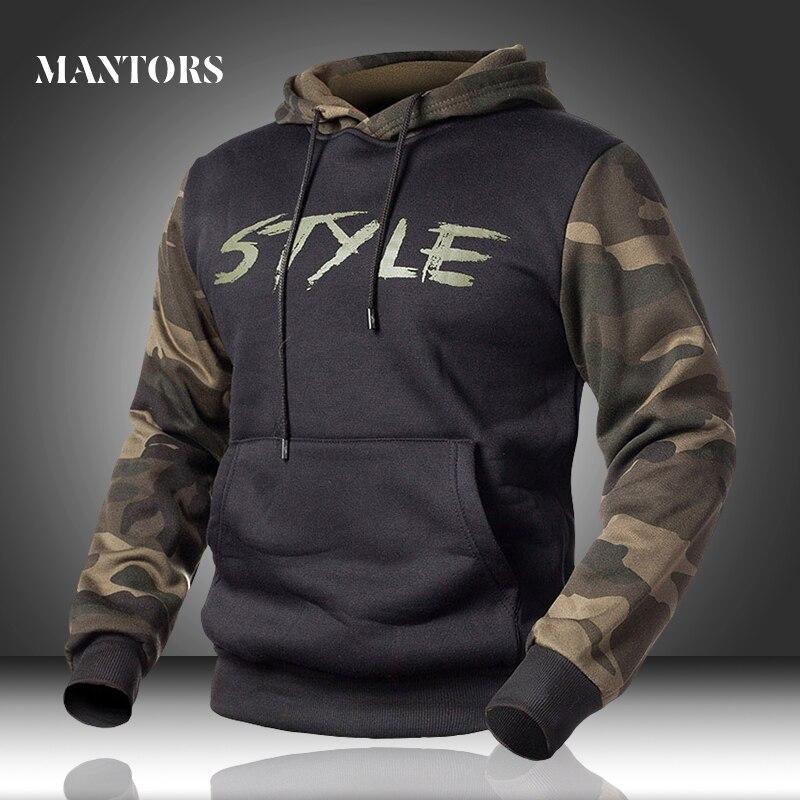 Männer Hoodies Camouflage Casual Neue herren Sportswear Military Sweatshirts Frühjahr Männlichen Lose Camo Mit Kapuze Pullover Fleece Kleidung