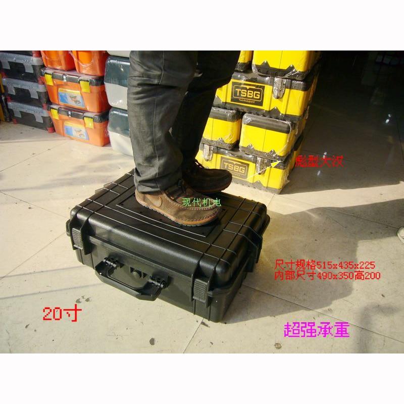 500x350x200MM ABS kufřík na nářadí Nástroj odolný proti - Příslušenství pro ukládání nástrojů - Fotografie 2