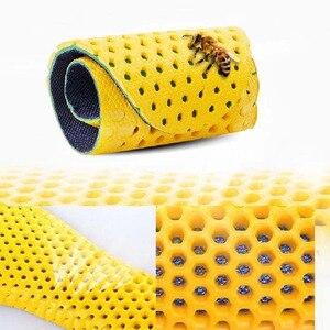 Image 5 - Sport Schock Einlegesohle Stretch Atmungs Deodorant Laufschuhe Kissen Atmungsaktiv Schweiß Männer und Frauen Einlegesohlen Für Turnschuhe Memory Schaum