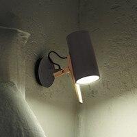 Guang shang Leben Einstellbare Nördlichen Europäischen Stil Kreative Einfache Schlafzimmer Nacht Lampe Wand Lampe Wohnzimmer Aktivität Pendel-in Einbauleuchte aus Licht & Beleuchtung bei