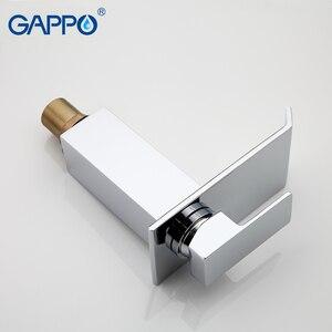Image 4 - Смеситель для ванной комнаты GAPPO, Широкий водопад, хромированный полированный кран, крепление на раковину