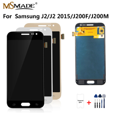 купить J200 LCD For Samsung Galaxy J2 2015 Display J200F J200M J200H J200Y LCD Display Touch Screen Digitizer Replacement Parts дешево
