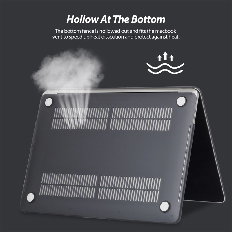 Image 5 - For MacBook Pro 16 Inch Case Notebook Scratch Resistant Tablet Cover Frosted Protective Shell Case For Macbook Pro 16Laptop Bags & Cases   -