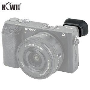 Image 2 - שדרוג עין כוס רך מצלמה עינית עינית ארוך עיינית עבור Sony A6100 A6300 A6000 מחליף Sony FDA EP10 מצלמות מצחייה