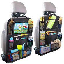 Водонепроницаемый автомобильный чехол для хранения мелочей, защитный чехол на заднее сиденье автомобиля для детей, Детский коврик, защитная сумка